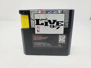 NBA Live 97 (Sega Genesis, 1996) Authentic Tested