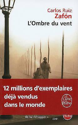 Ombre du vent by Carlos Ruiz Zafon (Paperback / softback)