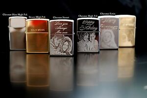 Personalised-Zippo-Lighters-photo-engrave-fast-delivery-Genuine-Zippo