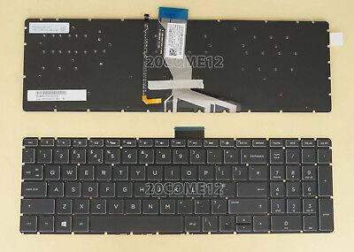 For HP Pavilion Power 15-cb000 15-cb010nr 15-cb024cl keyboard US White Backlit