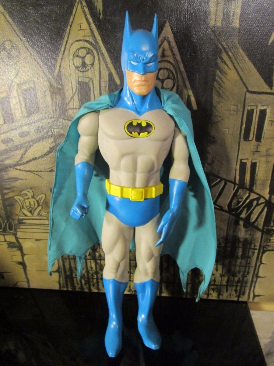 VINTAGE 1988 DC COMICS BATMAN 15'' VINYL FIGURE BY HAMILTON GIFTS