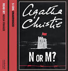 N or M?: Complete & Unabridged by Agatha Christie (CD-Audio, 2006)