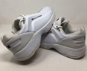 de calidad superior promoción precio oficial Detalles acerca de Vintage TOMMY HILFIGER DAD Zapatos Suela Grande Bandera  Blanca explicar tenis 10.5- mostrar título original
