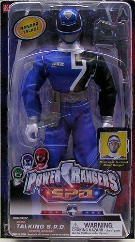 Power Rangers SPD Blau 12