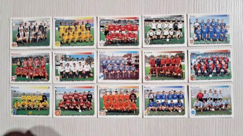 1997-98 Serie C SQUADRA Calciatori Panini SCEGLI *** figurina con velina ***