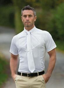 Shires Gents Hunting Show Shirt with Trimmed Neck and Cuffs in Smart Cotton