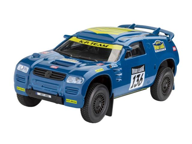 """Revell 06400 Build & Play VW Touareg"""" Rally """",Auto Modelo de Construcción 1 :3 2"""
