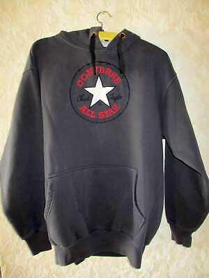 Converse All Star Pulli Sweatshirt Hoodie mit Kapuze Herren Dunkelgrau Gr. M L | eBay
