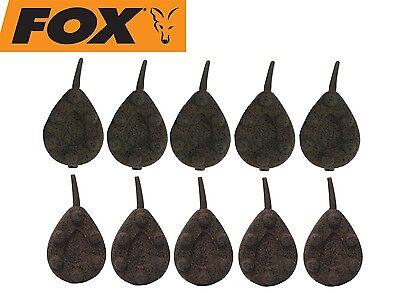 Fox Pear Leads In-line Karpfenblei  64g 85g 106g 121g 142g Braun Grün Blei NEW