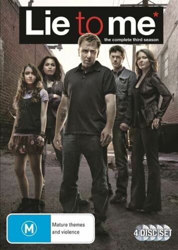1 of 1 - Lie To Me: Season 3  - DVD - Region 4
