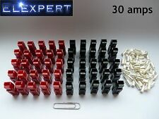 50 X ANDERSON POWERPOLE 30AMP ELECTRICAL CONNECTOR PLUG_GOLF TROLLEY_KIT CAR_RC
