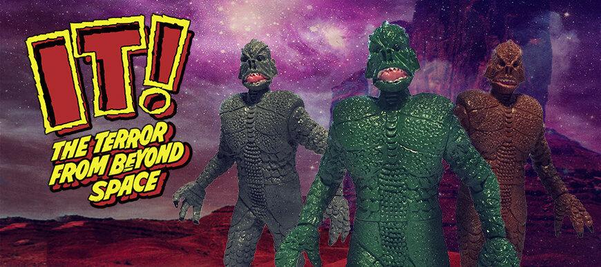 Monstarz der terror über alien - action - figur von 3