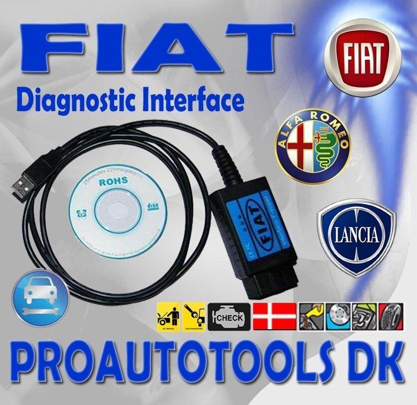 Fiat Diagnostik Kabel, Fiat / Alfa Romeo / Lancia