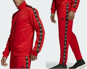 63ab1c514 Adidas TANGO TAPE CLUB HOUSE TRACK SUIT Jacket Sweat Shirt Top-PANT ...