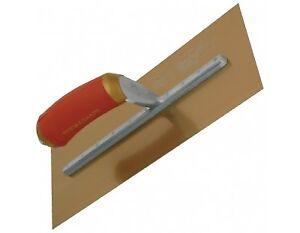 Marshalltown-16X5-Pre-Broken-In-Plaster-Trowel-Golden-Stainless-Steel-Hand-Tools