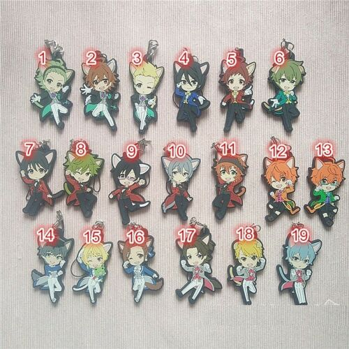 THE IDOLM@STER SideM S.E.M Beit Jupiter Anime Keychain Rubber Strap Charm CatEar