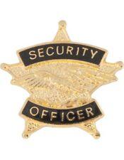 Tie Tac (U-T103G) Security Officer Gold
