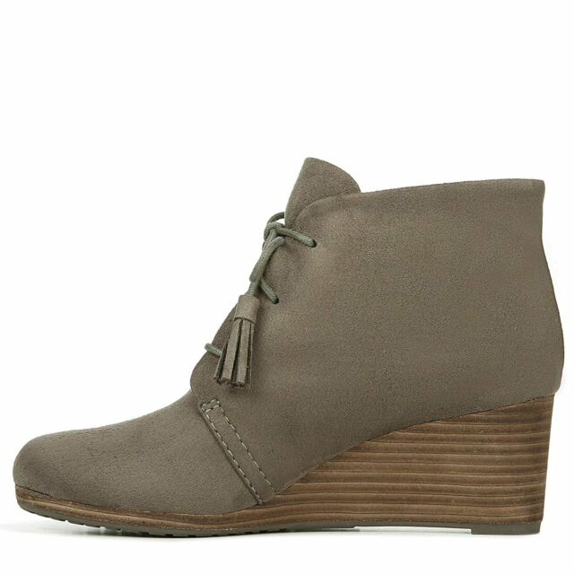 Dr. Scholl's Womens Dakota Fabric Closed Toe Ankle Fashion, Green, Size 10.0 6y6