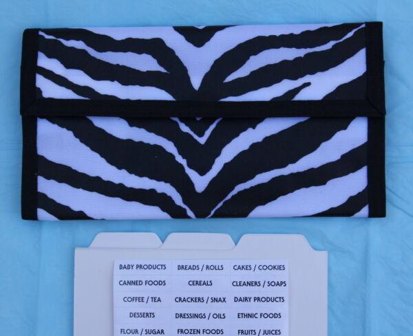*sale* Zebra Pattern Hannah Hansen Coupon Organizer Gunstig Voor EssentiëLe Medulla