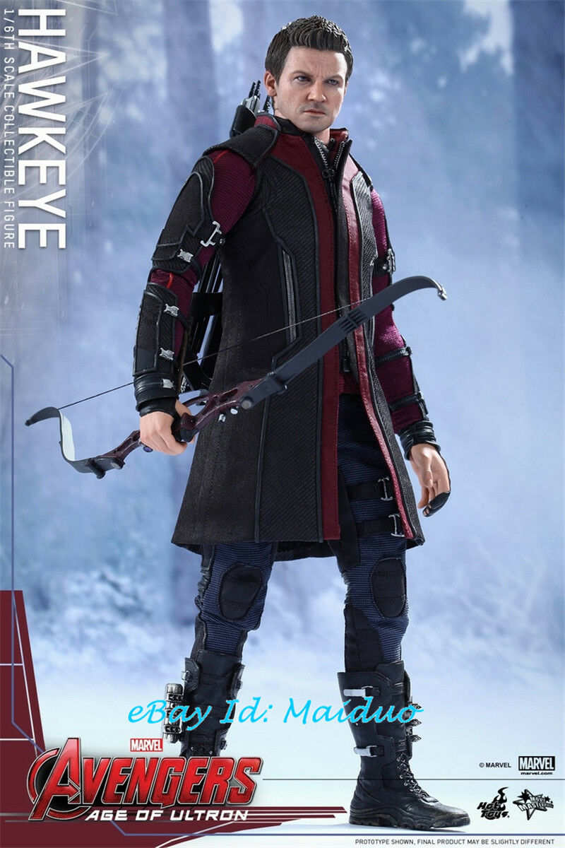 HT HotToys MMS289 Hawkeye Action Figure 1 6 Scale Collectible New