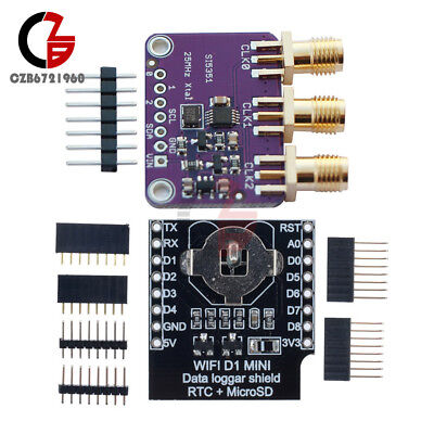 Si5351A I2C 25MHZ Clock Generator Breakout Board 8KHz to 160MHz for Arduino  | eBay