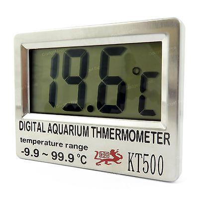 Improved Aquarium Digital Thermometer for Fish Tanks Stick On Glass