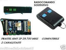 TELECOMANDO RADIOCOMANDO COMPATIBILE PRASTEL KMT2P 29700 29,700 MHZ DIP-SWITCH