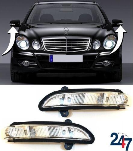 NEW MERCEDES BENZ E W211 2006-2009 DOOR WING MIRROR TURN INDICATOR PAIR SET