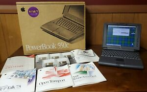 Vintage-Apple-Macintosh-PowerBook-550c-with-original-box