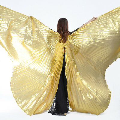 Belly Dance Costume Opening Isis Wings bifurcate Isis Wings Gold/Silver/White