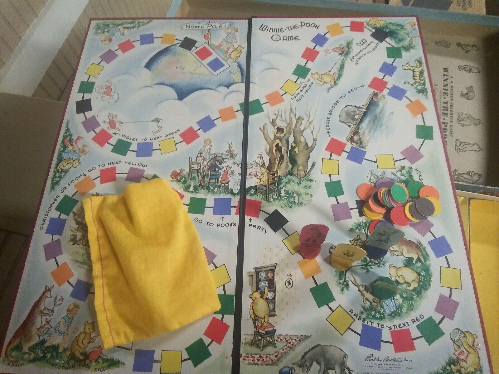 1933 E 1939 Winnie The Pooh tavola giocos