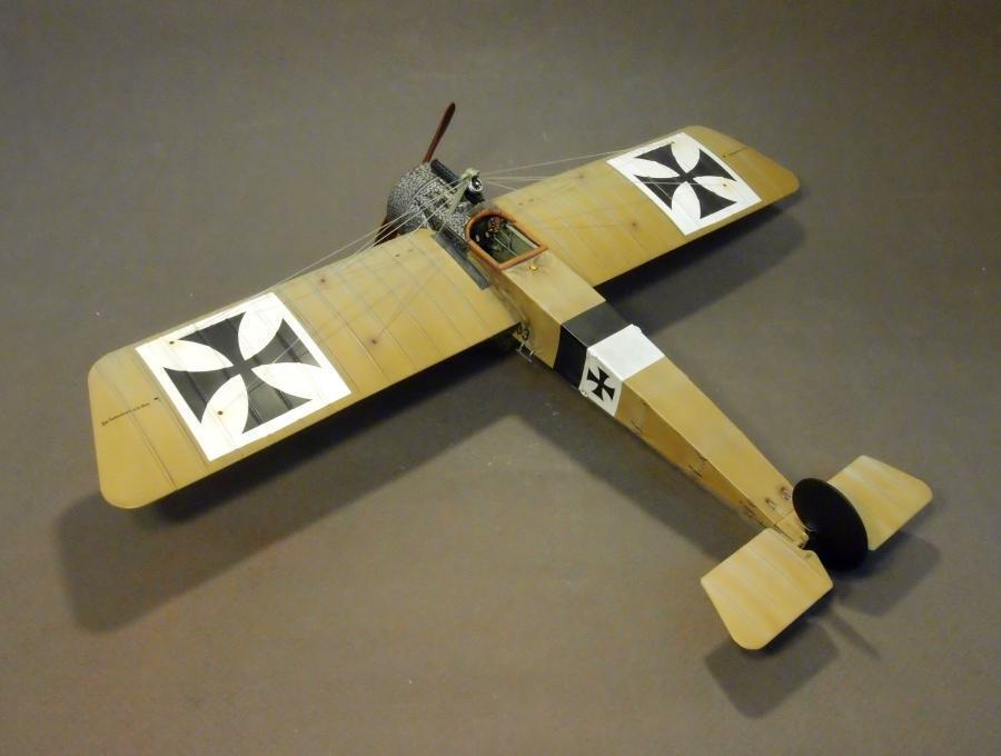 John Jenkins WW1 Knights Of The Sky ACE-25 WW1 Deutsch Fokker E.III Kampfflieger