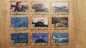 1991-TOPPS-DESERT-STORM-Trading-Cards-VINTAGE-LOT