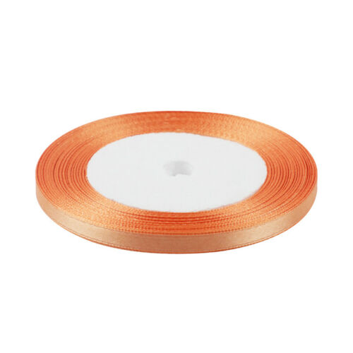 25 /& 38mm 1x Double Sided Quality Satin Ribbon Roll Long Lengths Width 6,10,15