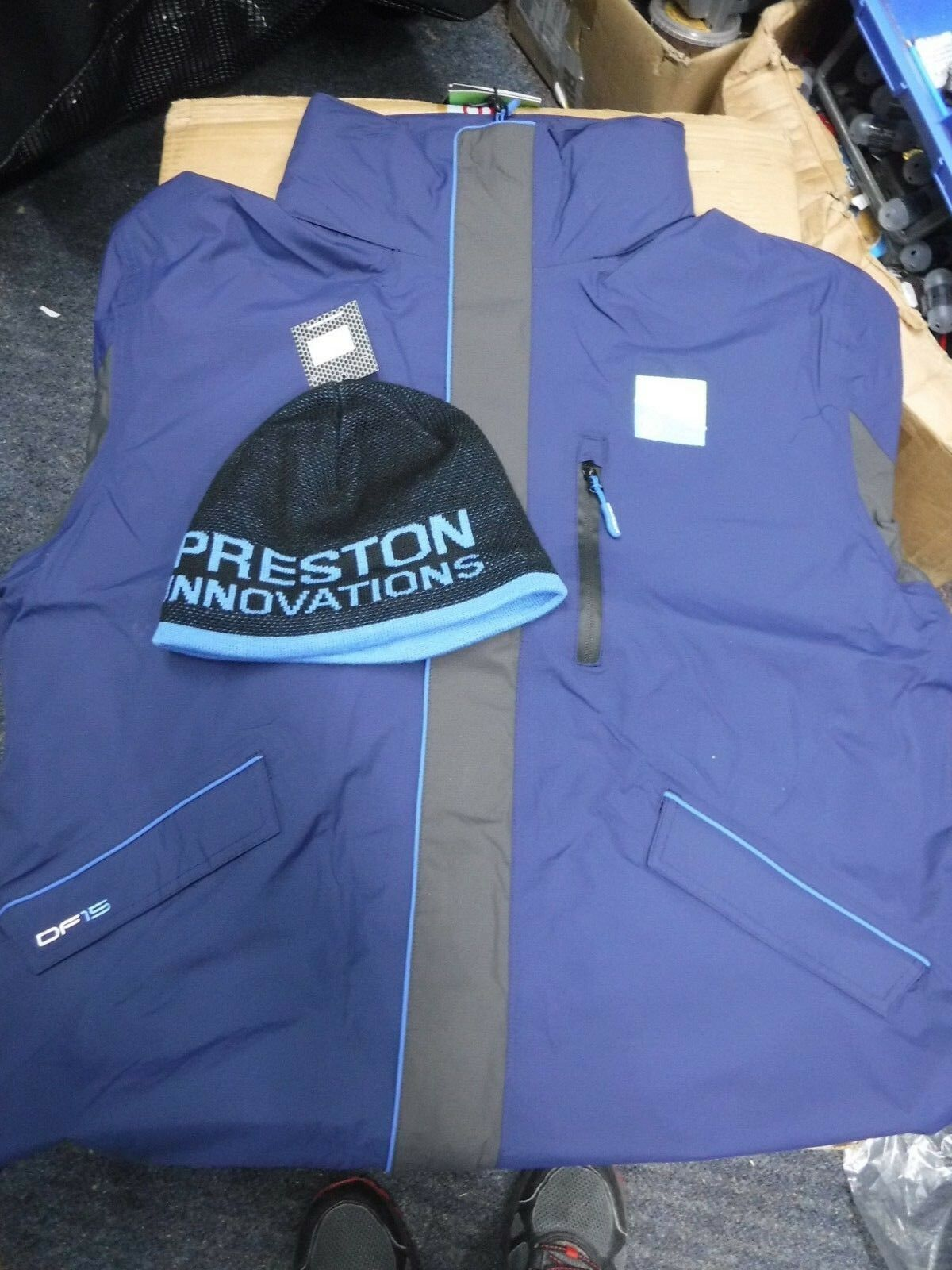 PRESTON INNOVATIONS  DF15 JACKET only free beanie hat  2019