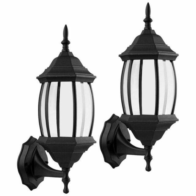 Black Exterior Fluorescent Wall Light 14 5 X 10 For Sale Online Ebay