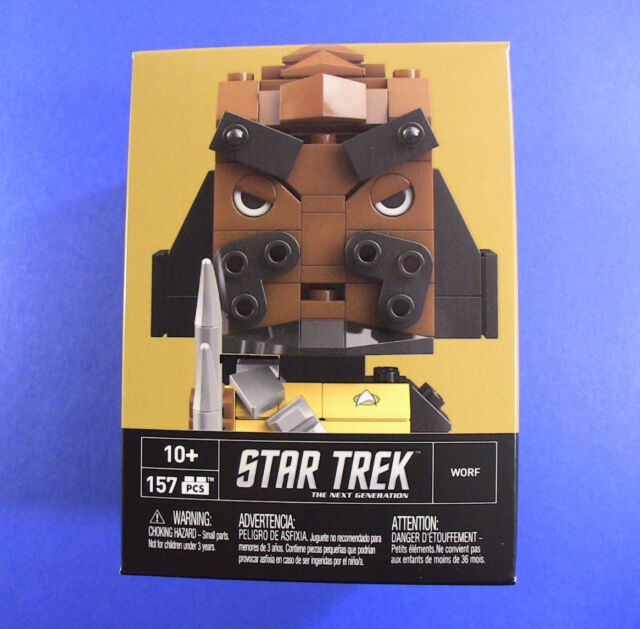 Mega Blocks Kubros Worf Star Trek The Next Generation - New, Sealed