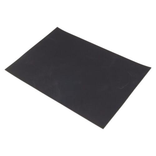 Rindsleder Schwarz Pull-Up Finish Design 3,0 mm Dick A4 Echt Leder Leather 79