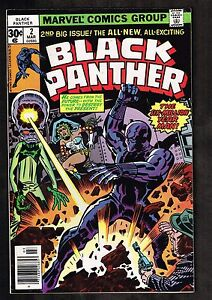 Black Panther 2 Six Million Year Man Kirby Art 8 5 Wh Ebay