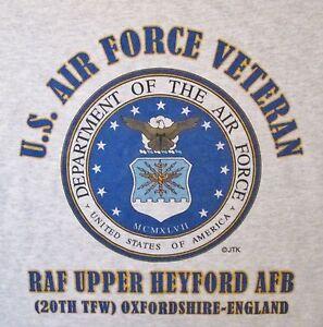 RAF-UPPER-HEYFORD-AFB-20TH-TFW-OXFORDSHIRE-ENGLAND-U-S-AIR-FORCE-EMBLEM-SHIRT