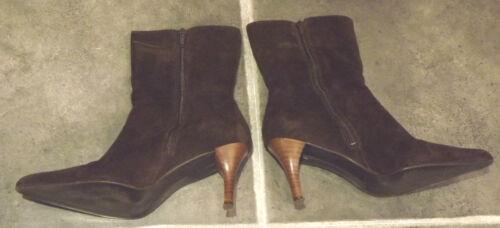 Eur Wildleder 39 Boots Echtes 3 Principles Ankle Brown 6 100 3 Eur Uk Ankle 100 Braun 6 Suede Real Ladies Ladies Uk Boots 39 Principles wqxE8t8
