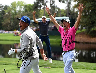RICKIE FOWLER HAND SIGNED 8x10 COLOR PHOTO REPRINT
