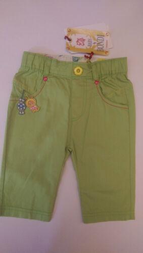 62 68 86 Bondi Baby Sommer Hose grün Neu Gr
