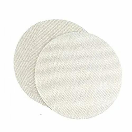 """2x Woven Fiber 4.5/"""" Kiln Discs for Firing Metal Clay Ceramics to 2500° Enamels"""