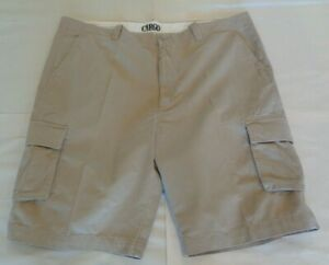 12beb1d6bb Roundtree & Yorke Size 48 Tall WASHED UTILITY Beige Cotton New Mens ...