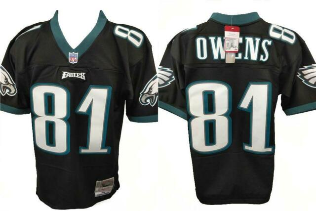 5b86ace4 2004 Terrell Owens #81 Eagles Mens Size 36 S Small Mitchell & Ness Jersey  $150