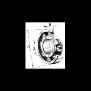 Cuscinetto a sfere 10x26x8 6000-C FAG