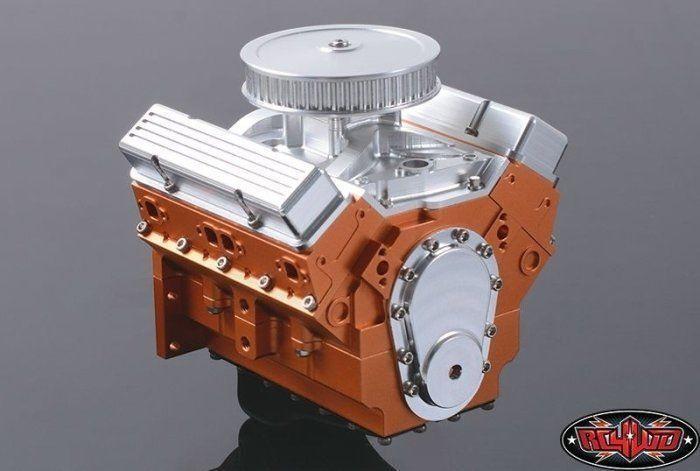 Rc4wd z-s1043 1 10 v8 motor scale Engine (muy detalle) z-s1043