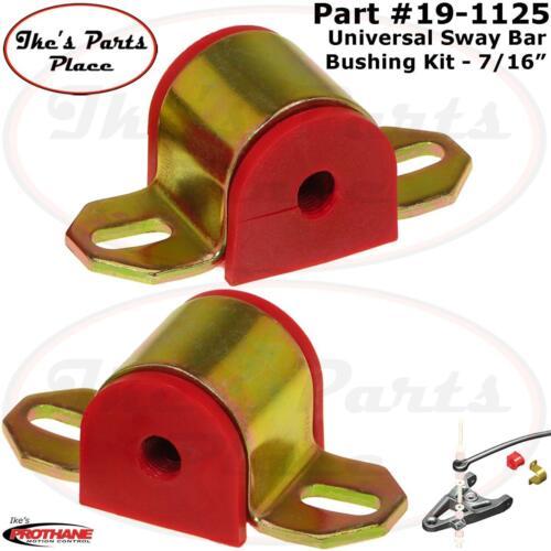 "PROTHANE 19-1125-BL Front //Rear Universal 7//16/"" Sway Bar Bushing w// /""B/"" Bracket"