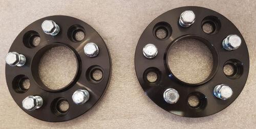 Para adaptarse a Bmw serie 3 E90 E91 E92 E93 20 mm Hubcentric Rueda Espaciadores 5x120-Negro